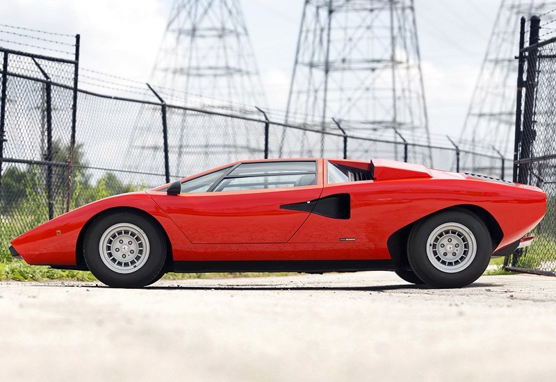 1974 Lamborghini Countach Lp400 2 Viaretro